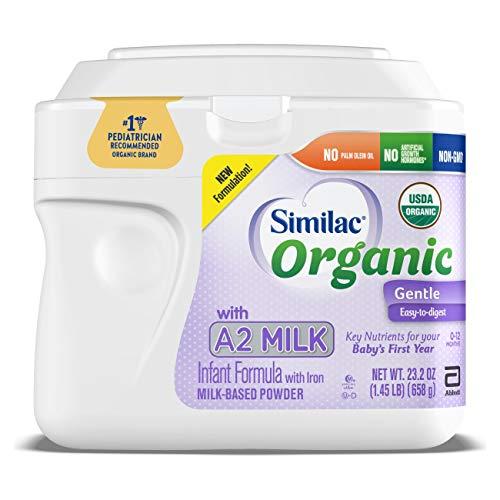 Similac Organic with A2 Milk Infant Formula,...