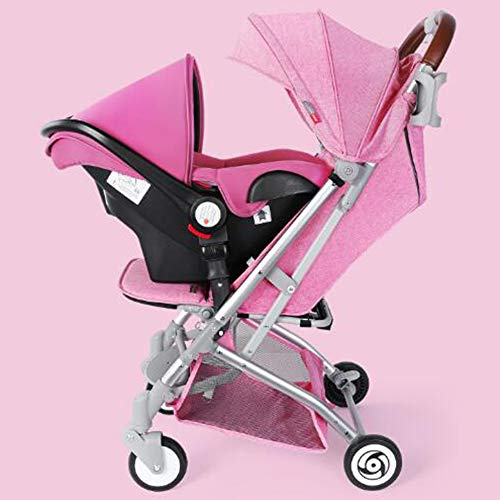 Best Bargain High Landscape Elegant All-in-1 Stroller Folding Umbrella Stroller Car Seat Babies Slee...