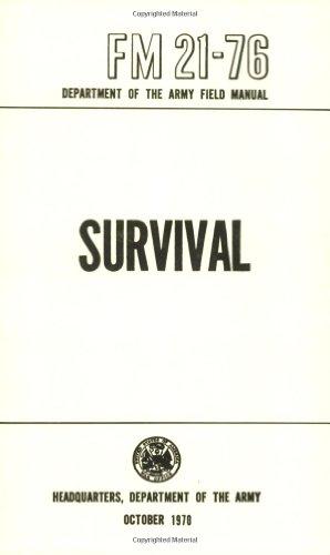US Army Survival Manual: FM 21-76