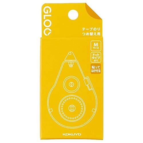 コクヨ テープのり GLOO 貼ってはがせる つめ替え Mサイズ タ-G401-08