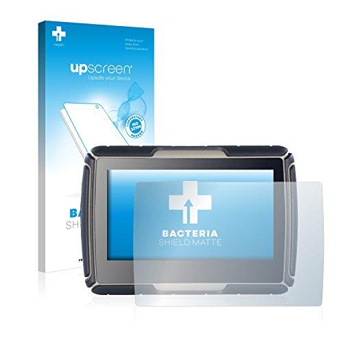 upscreen Antibakterielle Entspiegelungs-Schutzfolie kompatibel mit NavGear TourMate N4 - Anti-Reflex Displayschutzfolie matt, Anti-Fingerprint