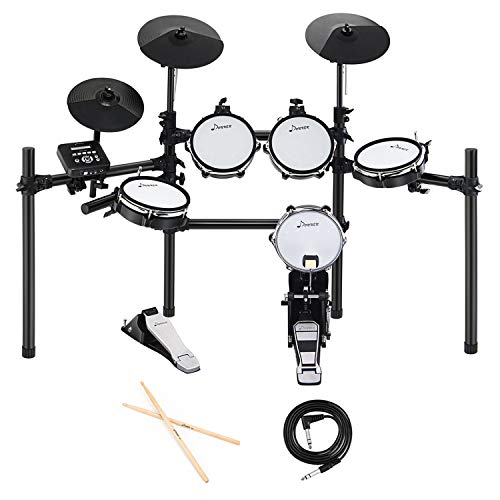 Donner DED-200 Electric Drum Set Kit Electronic with 5...
