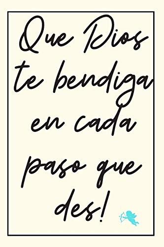 Cuaderno De Bendición: Cuaderno De Notas - Que Dios Te Bendiga - Detalle Ideal Para Comunión Para Hombres Y Mujeres - Regalo Original (Spanish Edition)