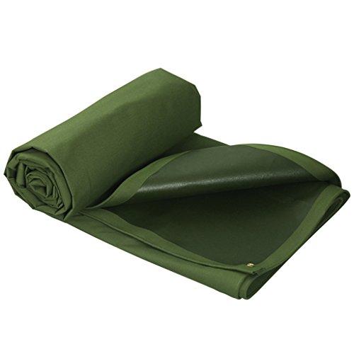 Bâche Tissu étanche à la Pluie de Protection Solaire imperméable à l'eau rembourrée Toile de Poncho Poncho QIQIDEDIAN (Size : 4 * 4m)