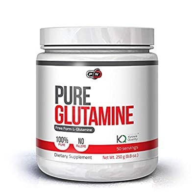 Pure L Glutamine Powder 5000mg Unflavored Nutrition Supplement 250g 500g 1000g 50 100 200 Servings Important Amino Acid Helps Recovery Muscle Build Energy Endurance No Fillers
