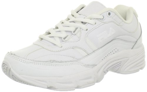Fila Women's Memory Workshift Cross-Training Shoe,White/White/White,6.5 M US