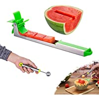 Yidada Stainless Steel Watermelon Windmill Cutter Slicer