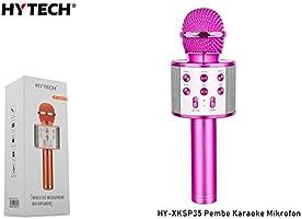 HYTECH HY-XKSP35 Pembe Karaoke Mikrofon