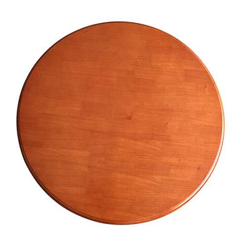 KIKA DIOE Runder Drehteller mit Esstisch, rotierendes Serviertablett aus Holz, moderner minimalistischer Organizer
