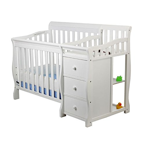 Dream on Me Jayden 4-in-1 Mini Convertible Crib and Changer Product Image