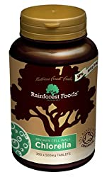 50% extra free, 300 x 500mg tablets for the price of 200. High in Vitamin B12, D and Iron, and a source of Chlorophyll. Tablets are 100% pure with no binders or fillers, containing only organic broken-cell wall Chlorella powder compressed into a tabl...