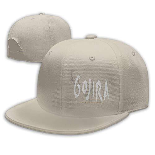 Herren Damen Baseball Caps,Hüte, Classic Mützen, Unisex Baseballmützen Gojira Terra Incognita Flache Krempe Street Rapper Hüte verstellbar