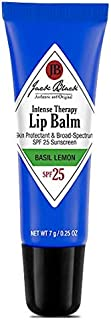 Jack Black Intense - Therapy Lip Balm Spf 25, 0.25 fl oz - Basil Lemon Flavor