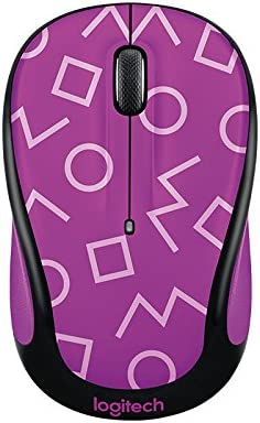 Logitech Play Collection M325c Wireless Mouse, Geo Purple, 910-004742
