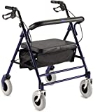 Invacare Bariatric Rollator with Pouch