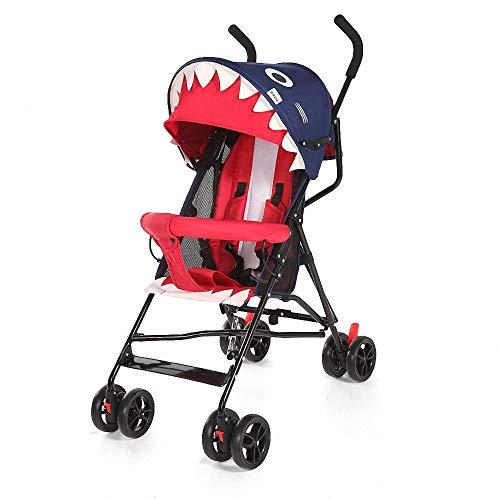 Ligera Cochecito de Bebé Plegable Sillita compacta y deportiva silla de paseo...