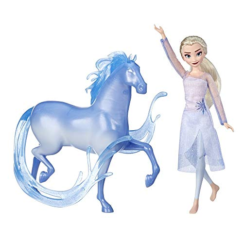 Hasbro E5516EU4 Die Eiskönigin ELSA Puppe und Nokk Figur, inspiriert durch den Film Die Eiskönigin 2