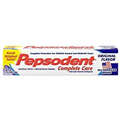 Pepsodent complete care toothpaste