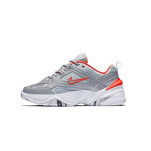 Nike Womens M2K Tekno, Metallic Silver, Size 9.5