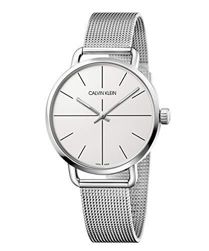 Calvin Klein Reloj Analógico-Digital para Unisex Adultos de Cuarzo con Correa en Acero Inoxidable K7B21126