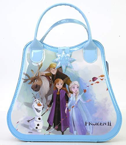 Disney Frozen II Make-up Tasche mit verschiedenen Frozen II Motiven enthält Schimmerpuder,...