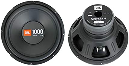 "2 JBL CS1214 12"" 2000W Car Subwoofers Power Subs Audio Woofers 4 Ohm SVC Black"