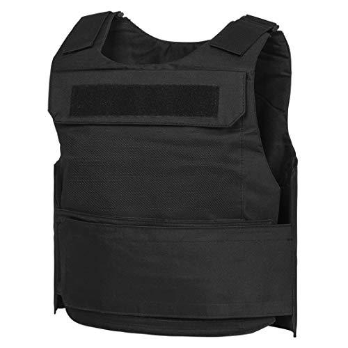 WarTechGears Discreet Vest MED-2XL 10'X12' Fully Adjustable Law Enforcement (Black)