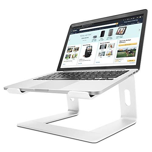 LONGKO Ergonomisch Notebook Ständ, Universal Laptop Halter mit Belüftung für Dell,Lenovo alle 10