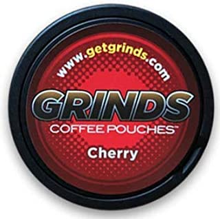 Grinds Coffee Pouches - 3 Cans - Cherry - Tobacco Free Healthy Alternative …