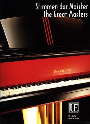 Stimmen der Meister. Klavier