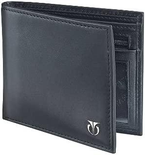 Titan Black Men's Wallet (TW112LM1BK)