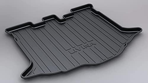 JJWAN 100% New Coche Alfombrillas Maletero, para Nissan LIVINA 2007-2019 Goma Alfombrillas Antideslizantes Impermeable Maletero Trasero Alfombra Protection Accesorios