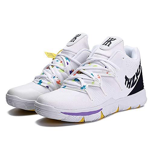 Zapatos de Baloncesto Zapatillas Deportivas de Hombre de Altura de Las Botas Outfield
