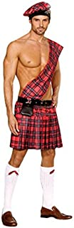 Dreamgirl Men's Hot Scottie Dress