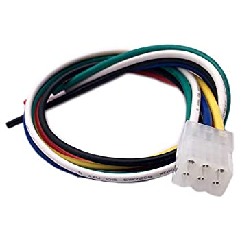 ALLMOST Compatible with Western Snow Plow 6 pin Control Harness Repair End 27070 Connector Pigtail