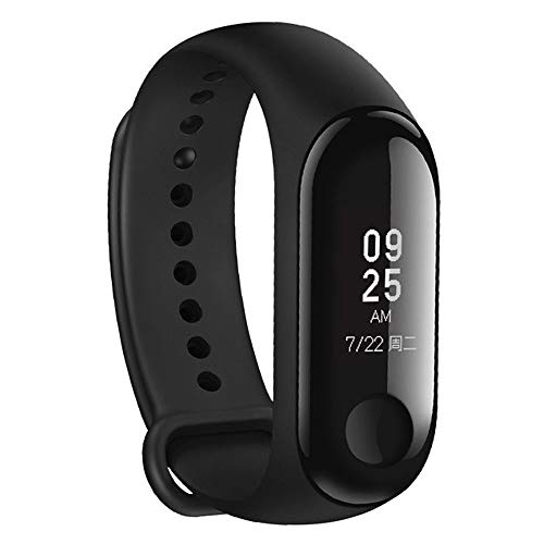 EFFaucet:3 Fitness Tracker Heart Rate Monitor 0.78'' OLED Display Touchpad Bluetooth 4.2...