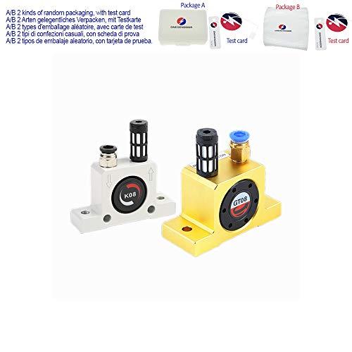 Vibrador neumático industrial tipo bola de oscilador K-series K8, K10, K13, K16, K20, K25, K30, K32, K36 GT8 GT10 GT13 GT16 GT20 GT25 GT30,GT16
