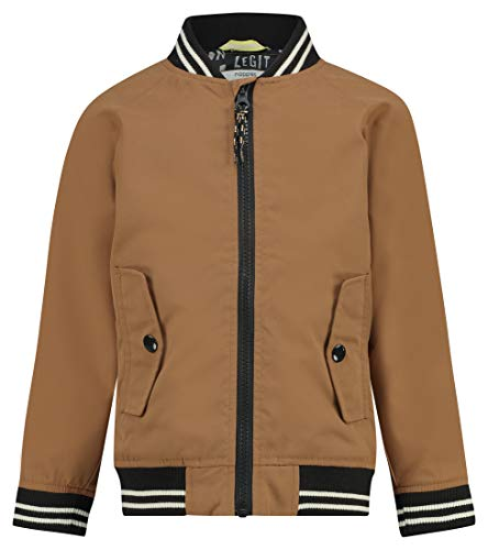 Noppies Jungen B Bomber Palm Beach Jacket Jacke, Braun (Washed Wood P014), 92