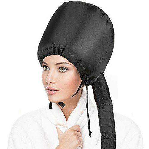 Accessorio per Asciugacapelli a Cofano - EQARD Asciugatrice con Cappuccio Regolabile, Cuffia Termica Portatile per Parrucchiere con Borsa da Viaggio