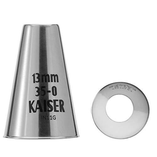 Kaiser Lochtülle, 13 mm, Edelstahl rostfrei, falz- und randfrei
