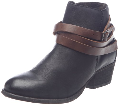 Hudson London Horrigan 7305010, Damen Fashion Halbstiefel & Stiefeletten, Schwarz (Black), EU 37