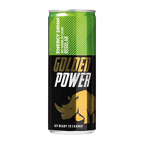 24 x Golden Power Energy Drink (24 x 0,25 L Einweg-Dose)