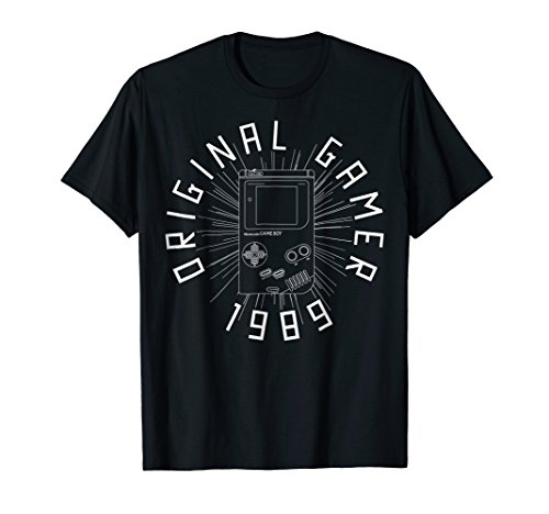 Nintendo Gameboy Original Gamer '89 Graphic T-Shirt