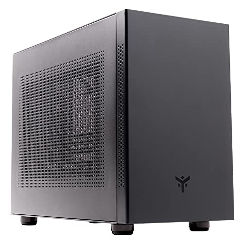 Itek Case EVOKE - New Concept Mini Tower, mATX, Mini ITX, 2xUSB3, 0.8mm, Nero