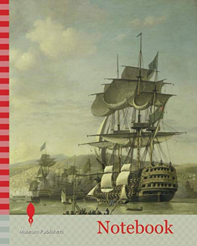 Notebook: The Anglo-Dutch Fleet in the Bay of Algiers in Support of the Ultimatum for the Release of the White Slaves, 26 August 1816, Nicolaas Baur, 1818