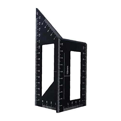 linjunddd Holzbearbeitungs Measure Ruler Platz Winkel Lineal-Werkzeug Carpenter Platz Für Ingenieure Tischler Industrial Tools