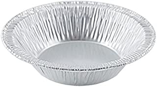 "D&W Fine Pack A90 3 3/8"" Aluminum Foil Tart Pan 125/Pk Disposable Mini Pie Tin Plate (pack of 125)"