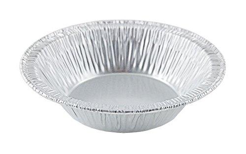 Wilkinson A90 3 3/8' (50 Pans) Aluminum Foil Tart Pan Disposable Baking Mini-pie Plate Tin