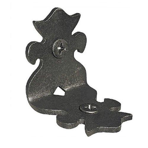 Nuvo Iron 2' Ornamental Rafter Clips RC2 (1.5' x 1.95') 12pcs - Black