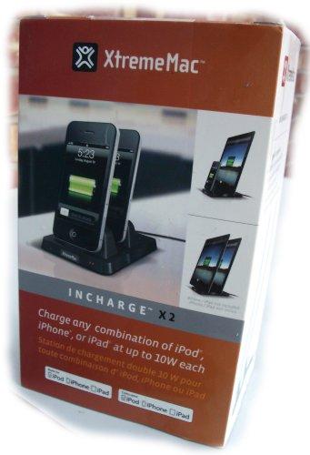 XtremeMac InCharge X2 Duo Plus Stazione di Ricarica per 2 Dispositivi iOS